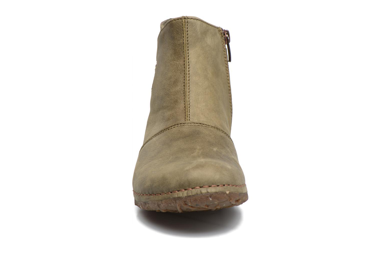 Bottines et boots El Naturalista Angkor N917 Vert vue portées chaussures