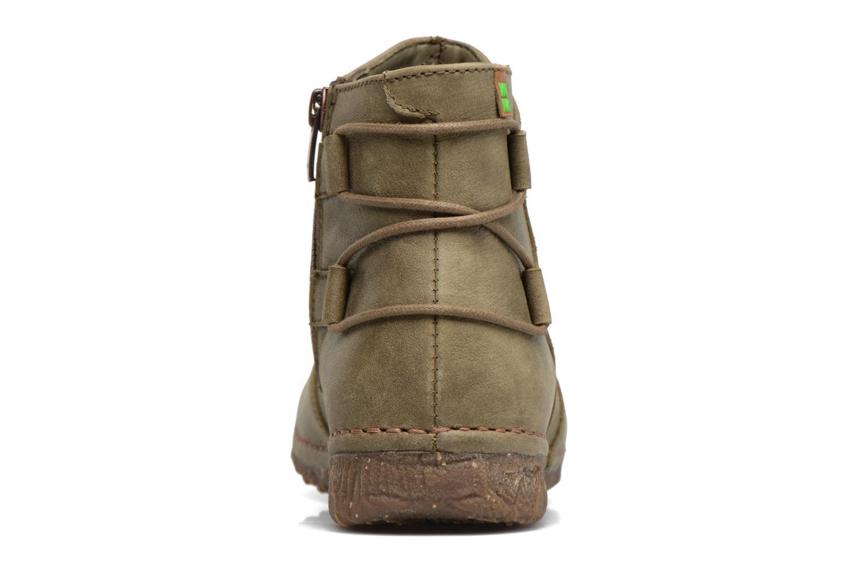 Bottines et boots El Naturalista Angkor N917 Vert vue droite