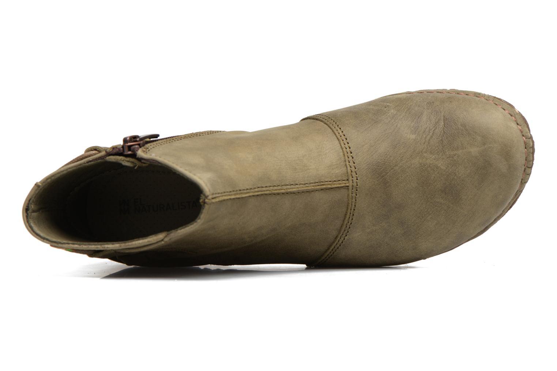 Bottines et boots El Naturalista Angkor N917 Vert vue gauche