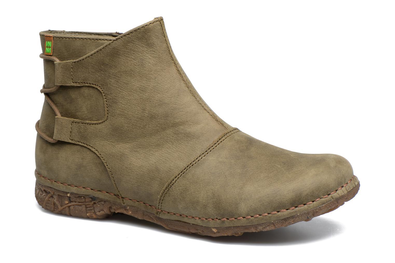 Bottines et boots El Naturalista Angkor N917 Vert vue détail/paire