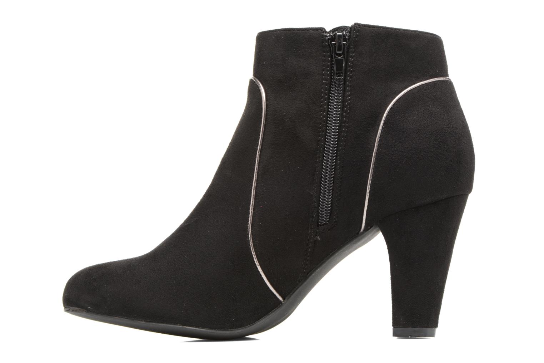 Bottines et boots Kaporal Sandow Noir vue face