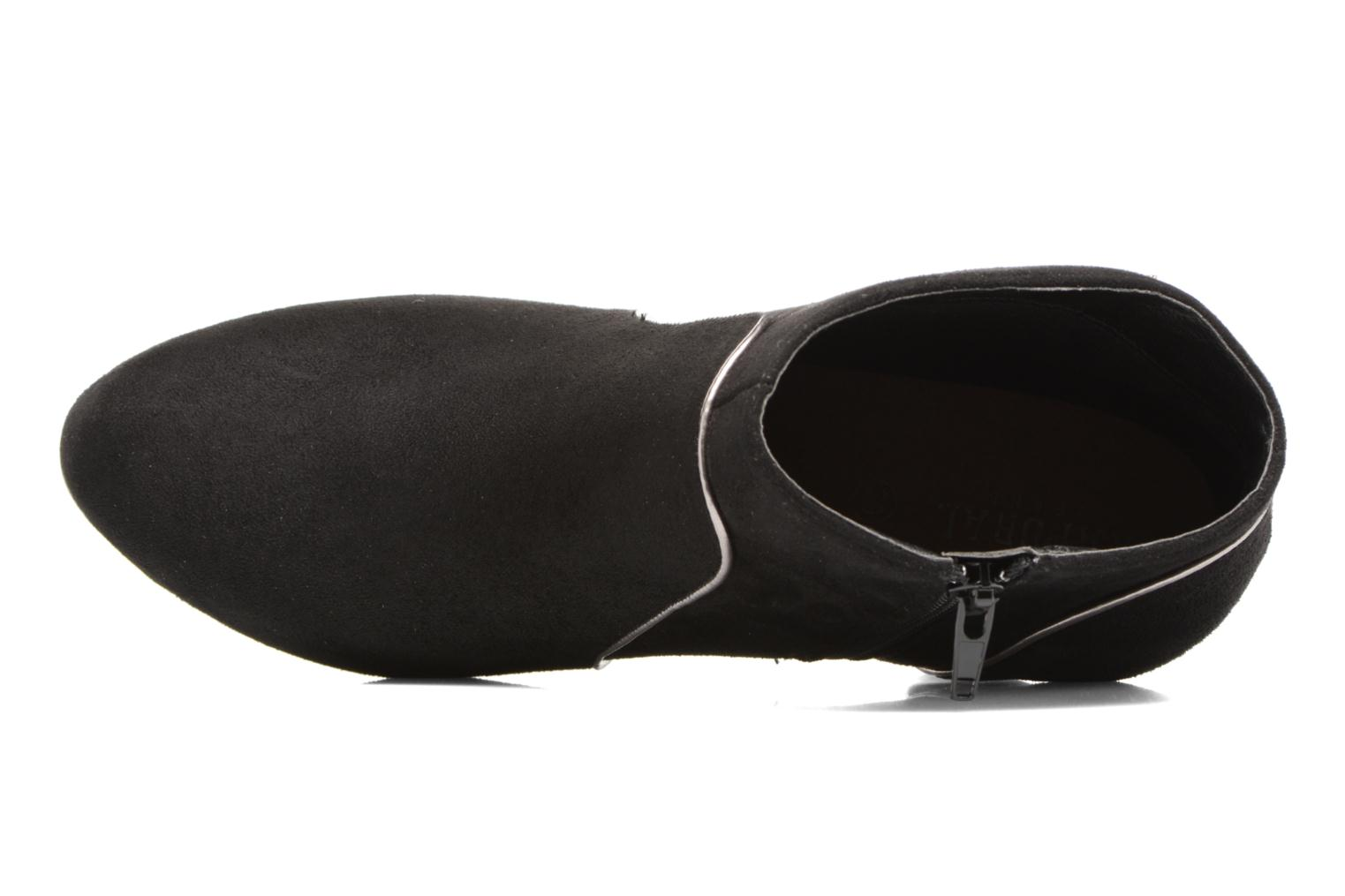 Ankle boots Kaporal Sandow Black view from the left