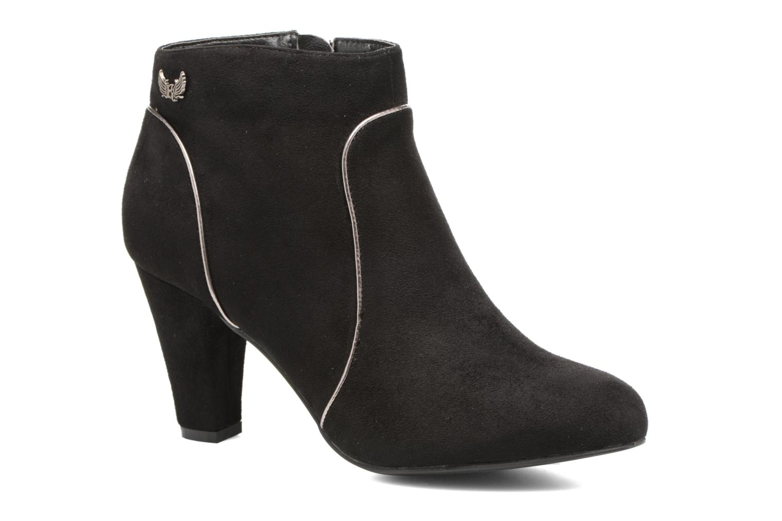 Ankle boots Kaporal Sandow Black detailed view/ Pair view