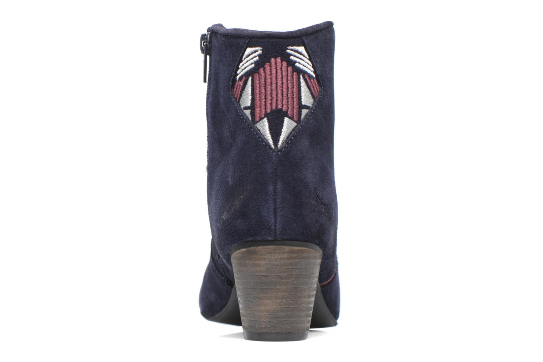 Bottines et boots Kaporal Vuber Bleu vue droite