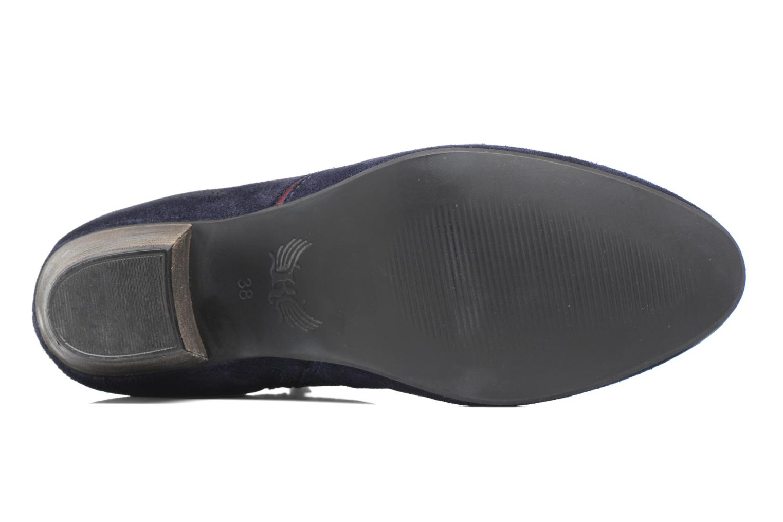 Bottines et boots Kaporal Vuber Bleu vue haut