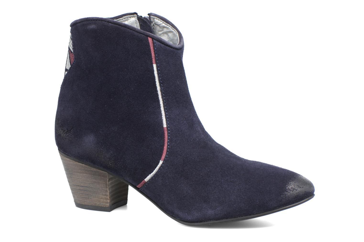 Ankle boots Kaporal Vuber Blue detailed view/ Pair view