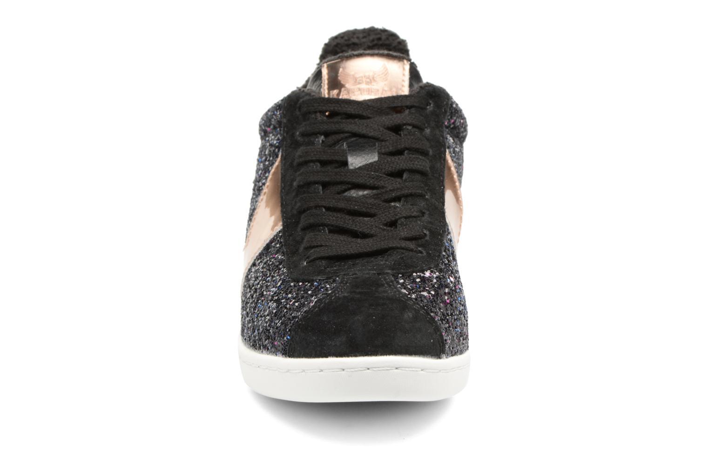 Baskets Kaporal Katala Noir vue portées chaussures