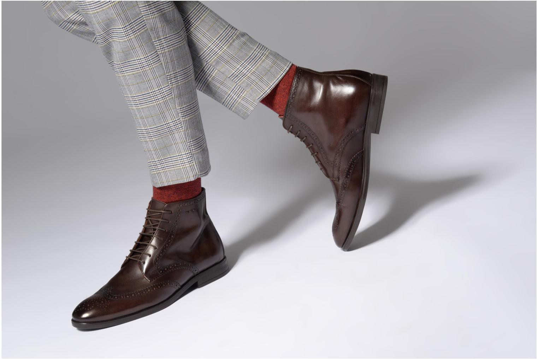Boots en enkellaarsjes Marvin&Co Thomley Bruin onder