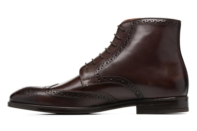 Boots en enkellaarsjes Marvin&Co Thomley Bruin voorkant