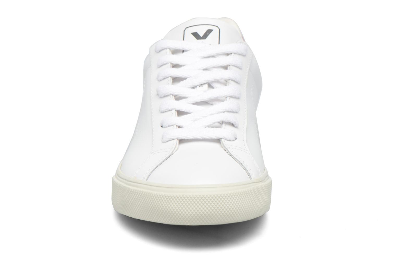 Baskets Veja ESPLAR LT LEATHER Blanc vue portées chaussures
