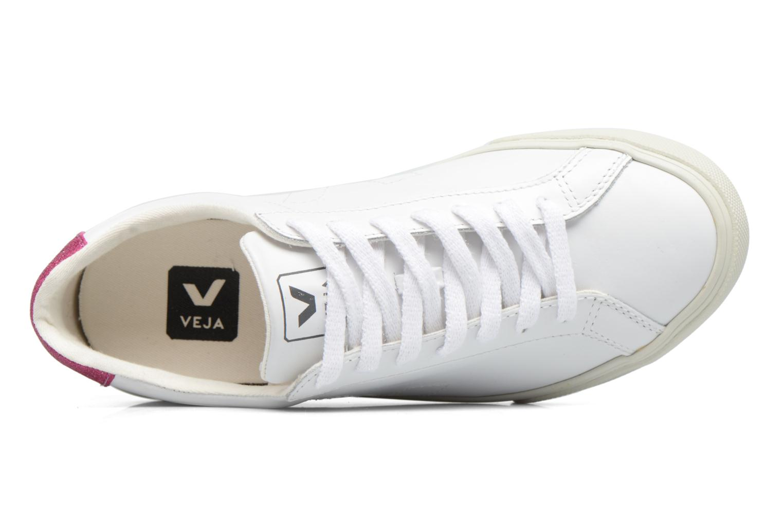 Baskets Veja ESPLAR LT LEATHER Blanc vue gauche