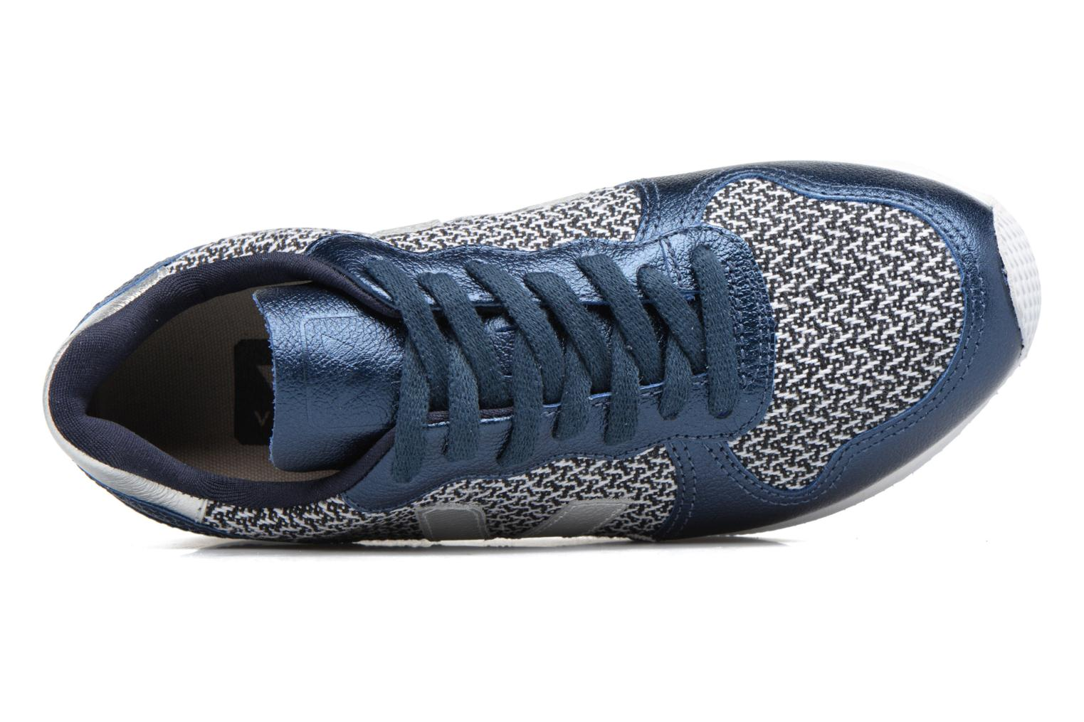 Baskets Veja HOLIDAY LT BLEND Bleu vue gauche