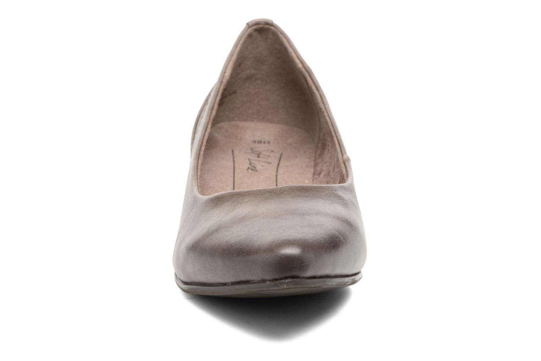 Ballerines Jana shoes Filora Beige vue portées chaussures
