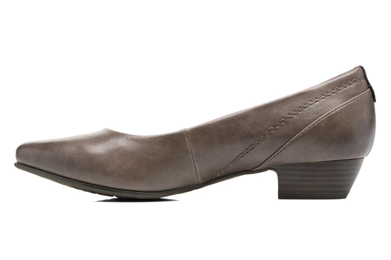 Ballet pumps Jana shoes Filora Beige front view