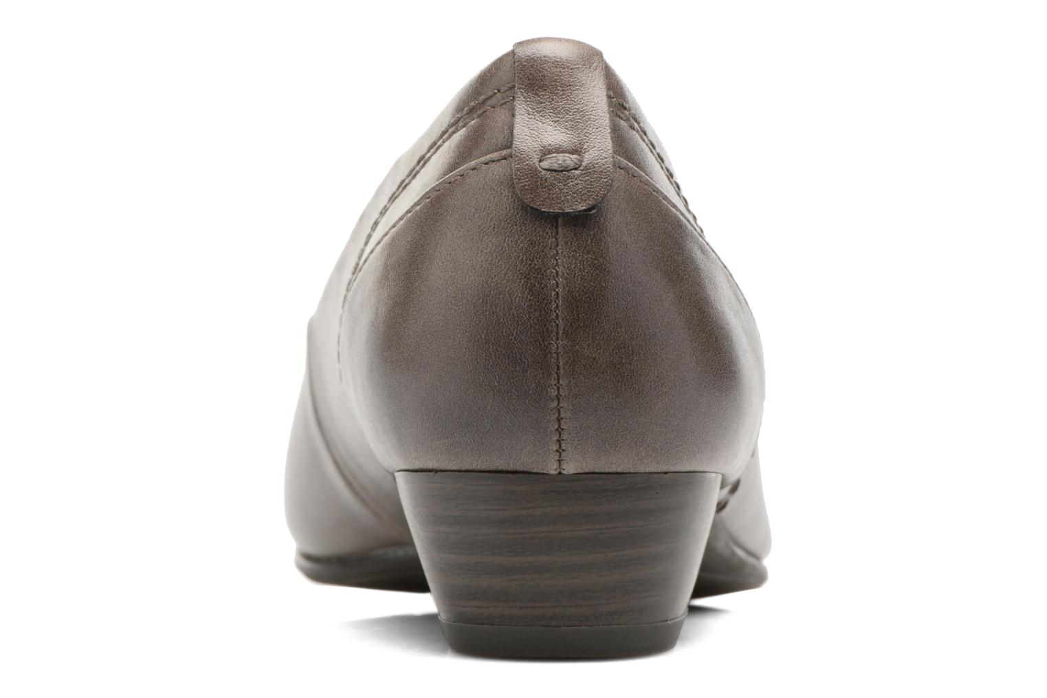 Ballet pumps Jana shoes Filora Beige view from the right