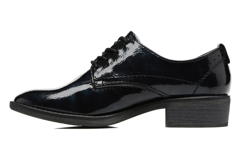 Scarpe con lacci Jana shoes Duna Azzurro immagine frontale
