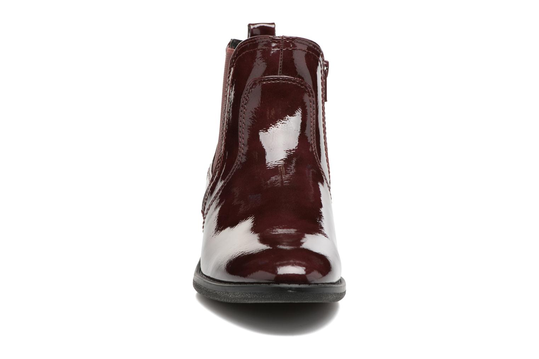 Bottines et boots Jana shoes Zali Bordeaux vue portées chaussures