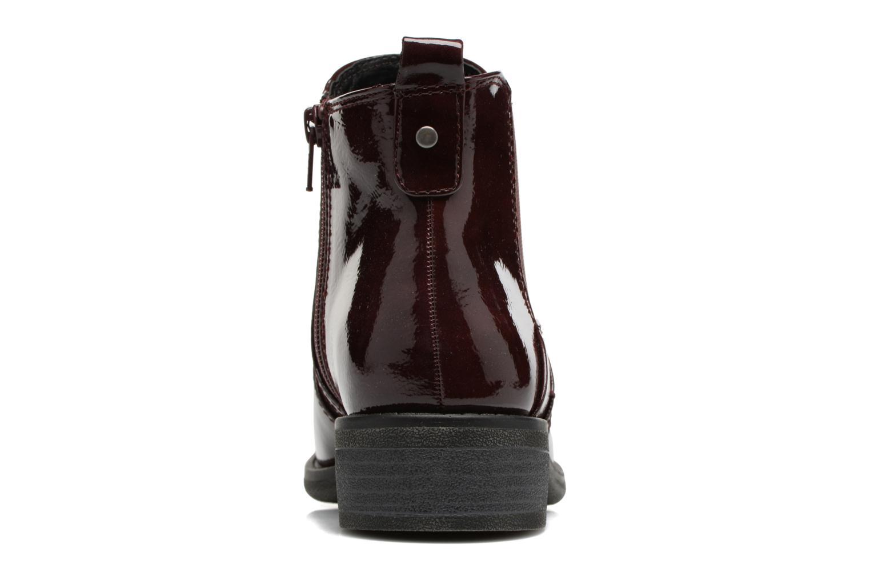 Bottines et boots Jana shoes Zali Bordeaux vue droite