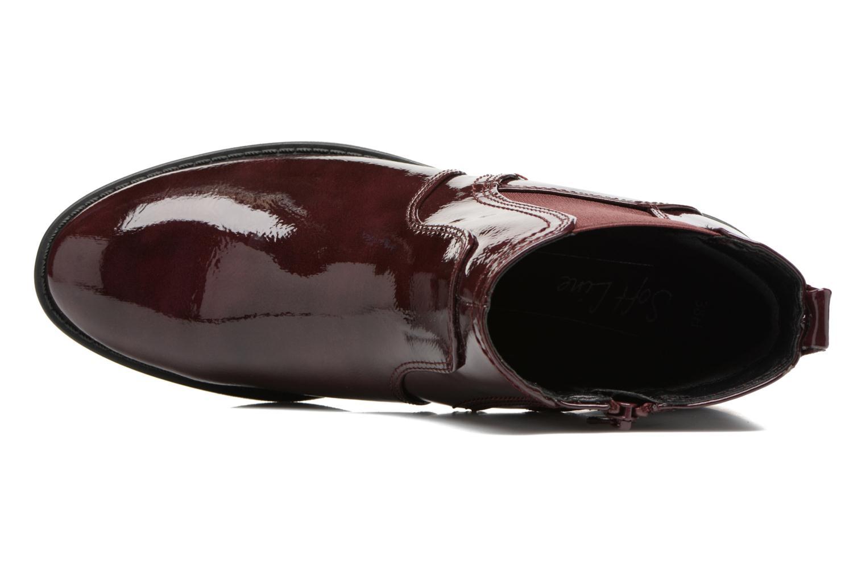 Bottines et boots Jana shoes Zali Bordeaux vue gauche