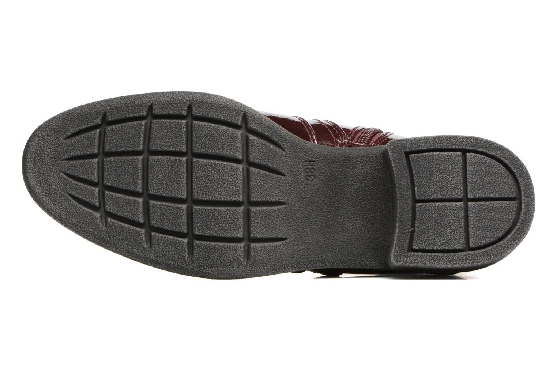 Bottines et boots Jana shoes Zali Bordeaux vue haut