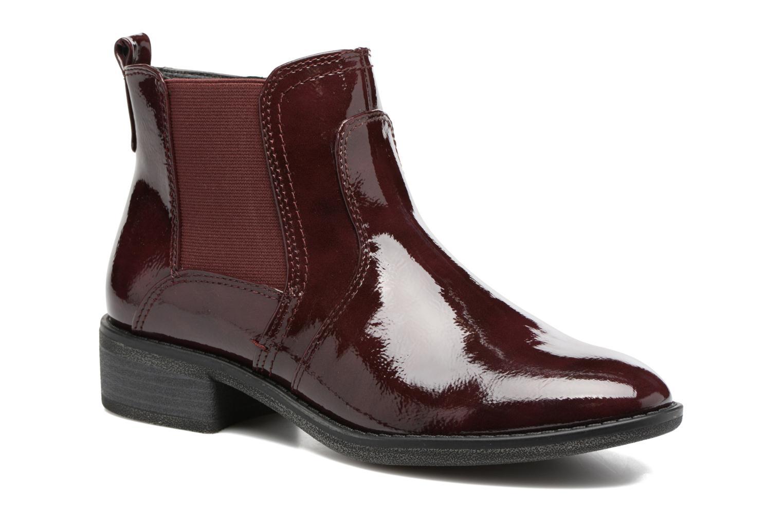 Bottines et boots Jana shoes Zali Bordeaux vue détail/paire