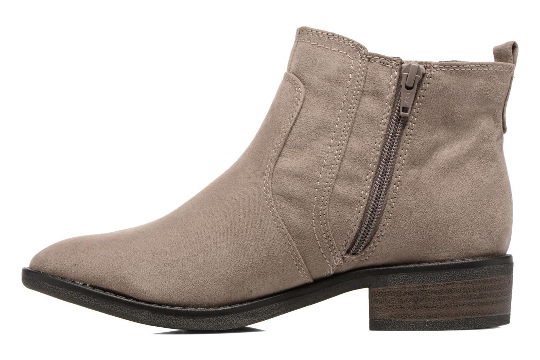 Bottines et boots Jana shoes Myat Beige vue face