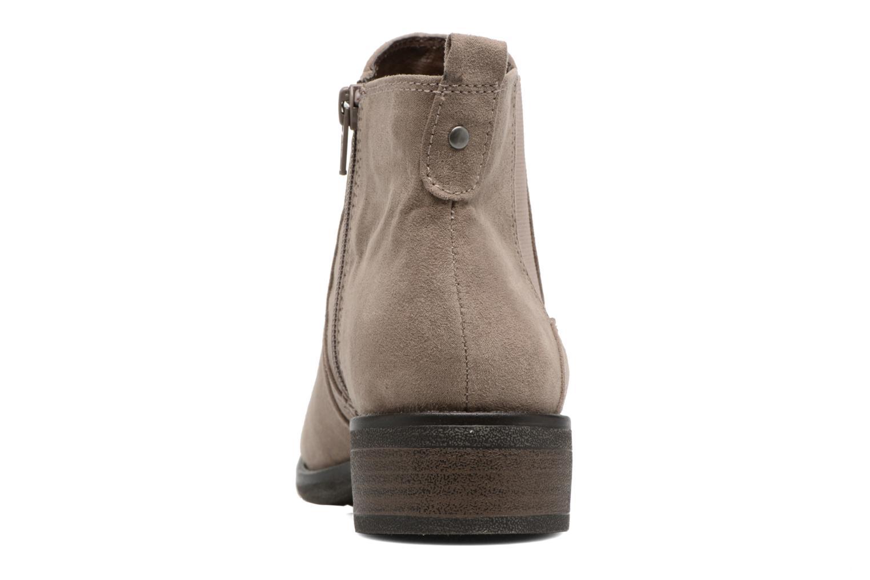 Stivaletti e tronchetti Jana shoes Myat Beige immagine destra