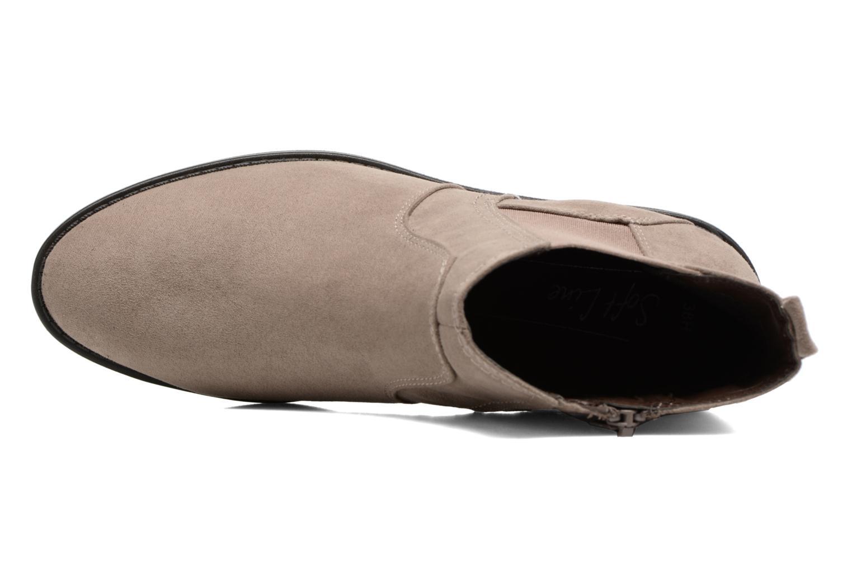 Bottines et boots Jana shoes Myat Beige vue gauche
