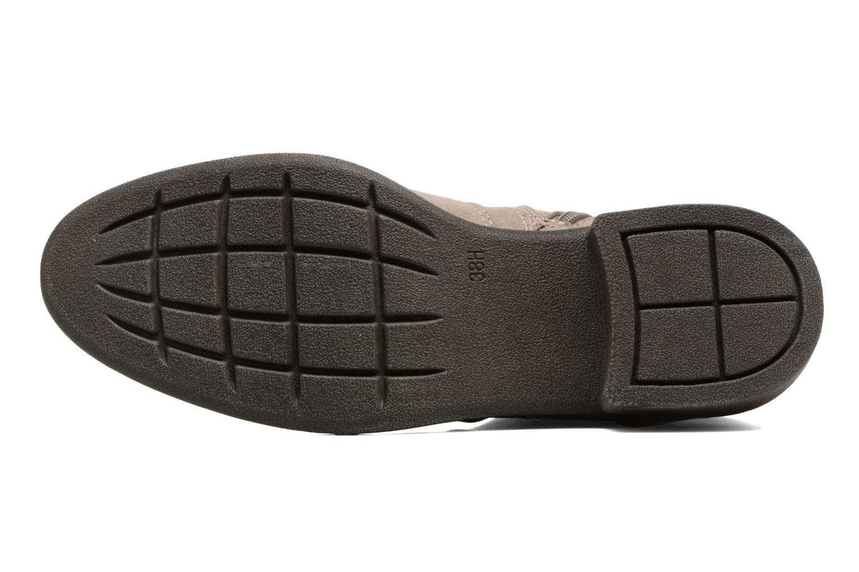 Stivaletti e tronchetti Jana shoes Myat Beige immagine dall'alto