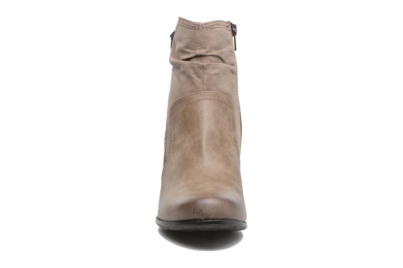 Bottines et boots Jana shoes Jumona Beige vue portées chaussures