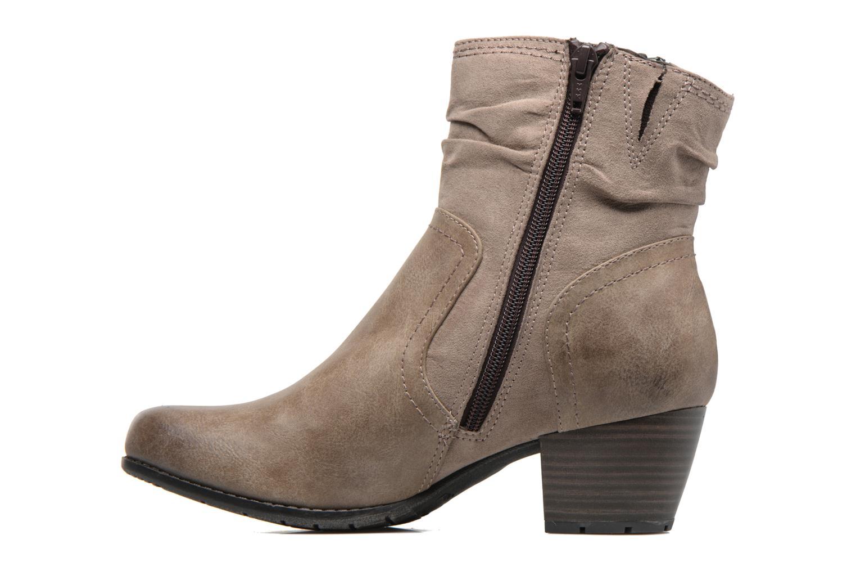 Bottines et boots Jana shoes Jumona Beige vue face