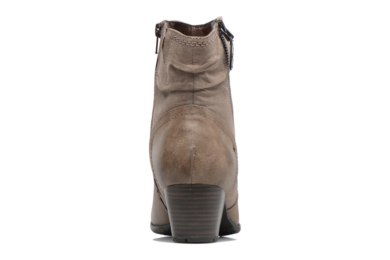 Bottines et boots Jana shoes Jumona Beige vue droite