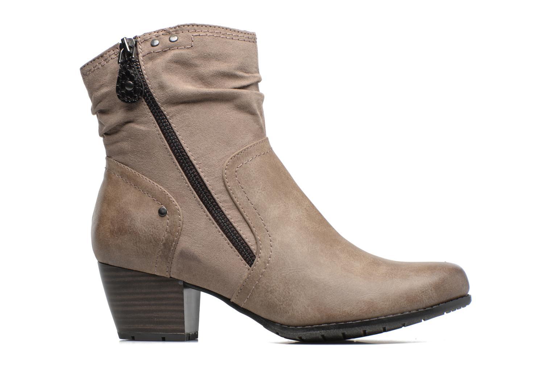 Bottines et boots Jana shoes Jumona Beige vue derrière