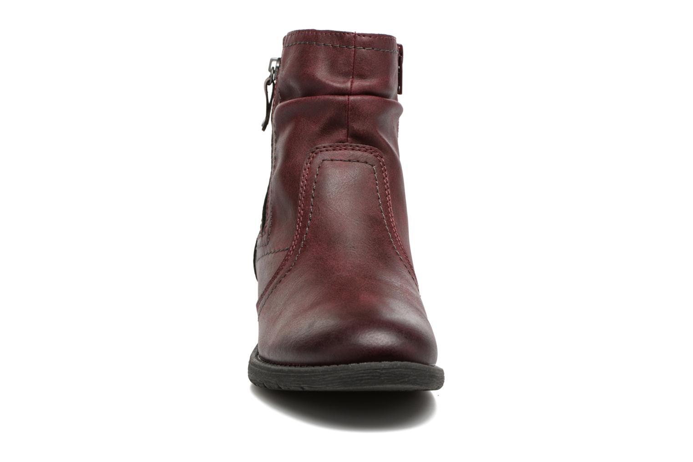Bottines et boots Jana shoes Tessa Bordeaux vue portées chaussures