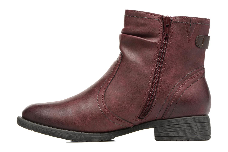 Bottines et boots Jana shoes Tessa Bordeaux vue face