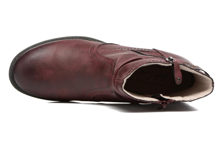 Bottines et boots Jana shoes Tessa Bordeaux vue gauche