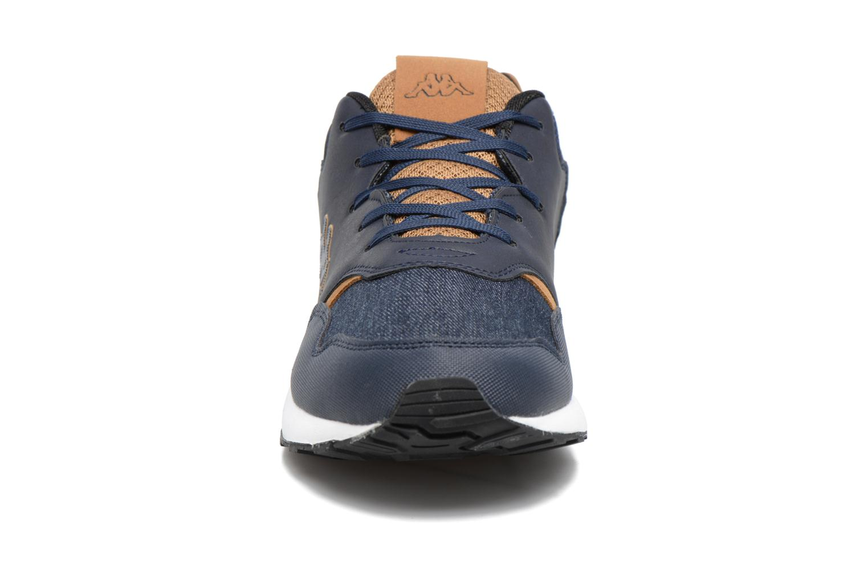 Baskets Kappa Cartago Bleu vue portées chaussures