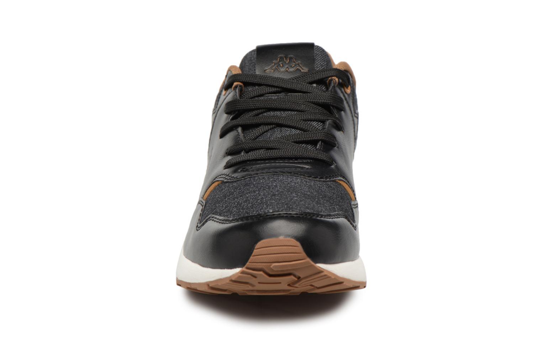 Baskets Kappa Cartago Noir vue portées chaussures