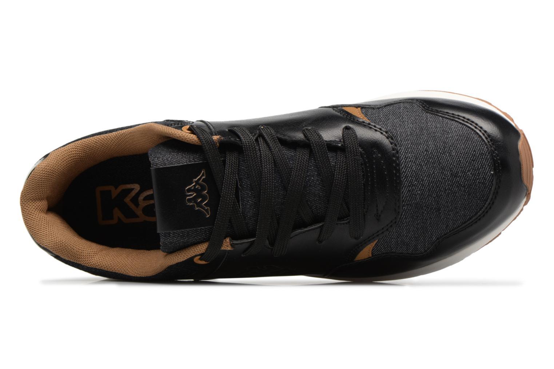 Baskets Kappa Cartago Noir vue gauche