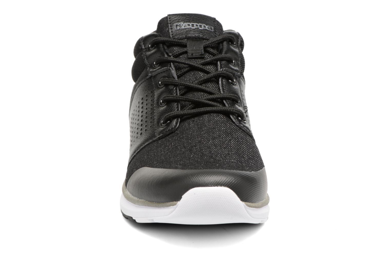 Baskets Kappa Nassau Mid Noir vue portées chaussures