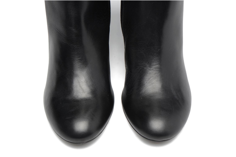 Boots Camp #2 Cuir Lisse Noir
