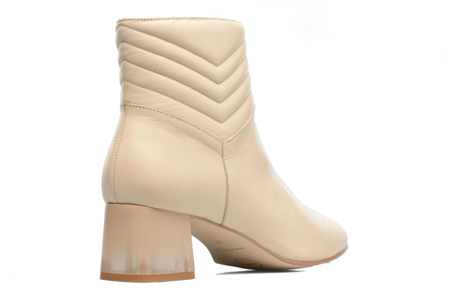 Ankle boots Made by SARENZA Winter Ski #4 White front view