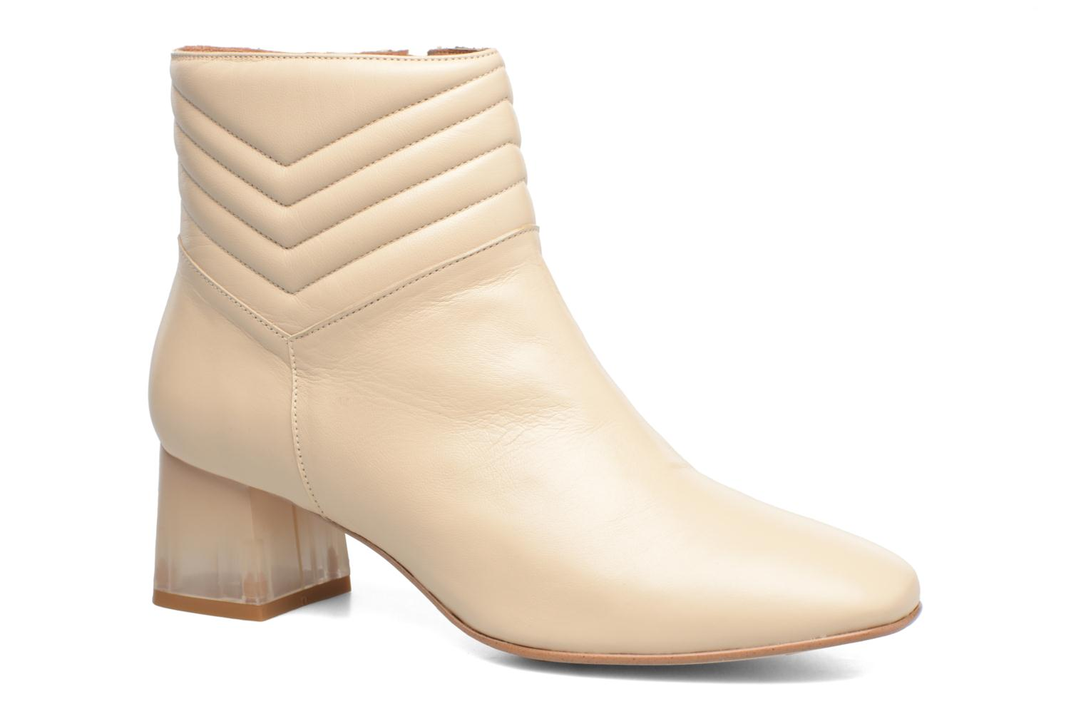 Ankle boots Made by SARENZA Winter Ski #4 White view from the right