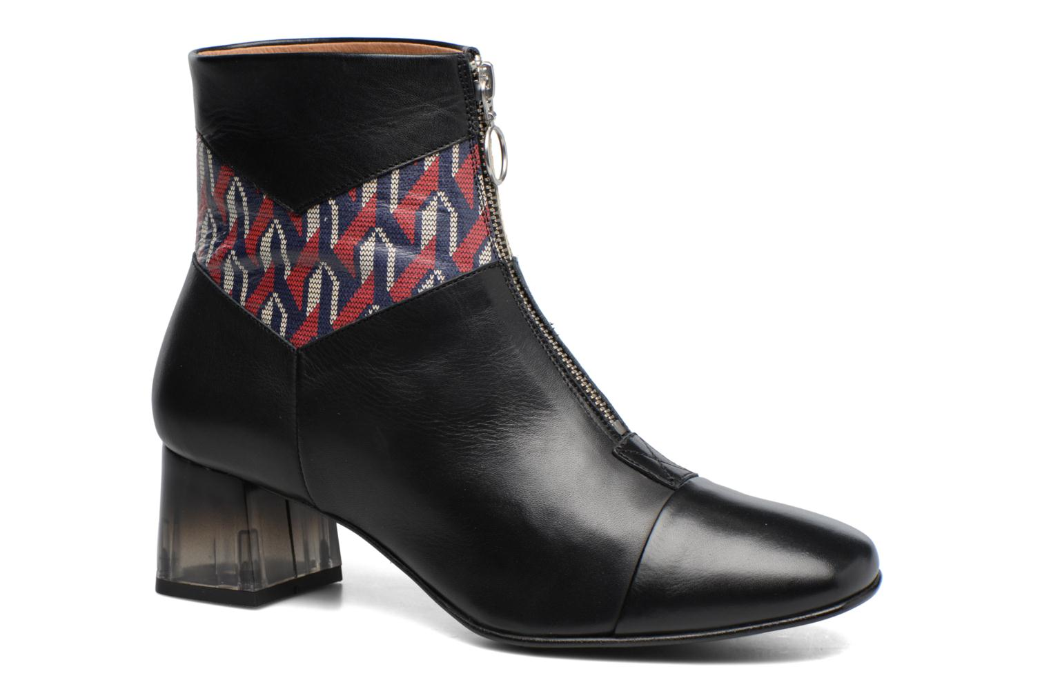 Ankle boots Made by SARENZA Winter Ski #5 Black view from the right