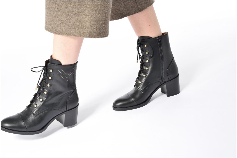 Boots Camp #22 Cuir Lisse Noir