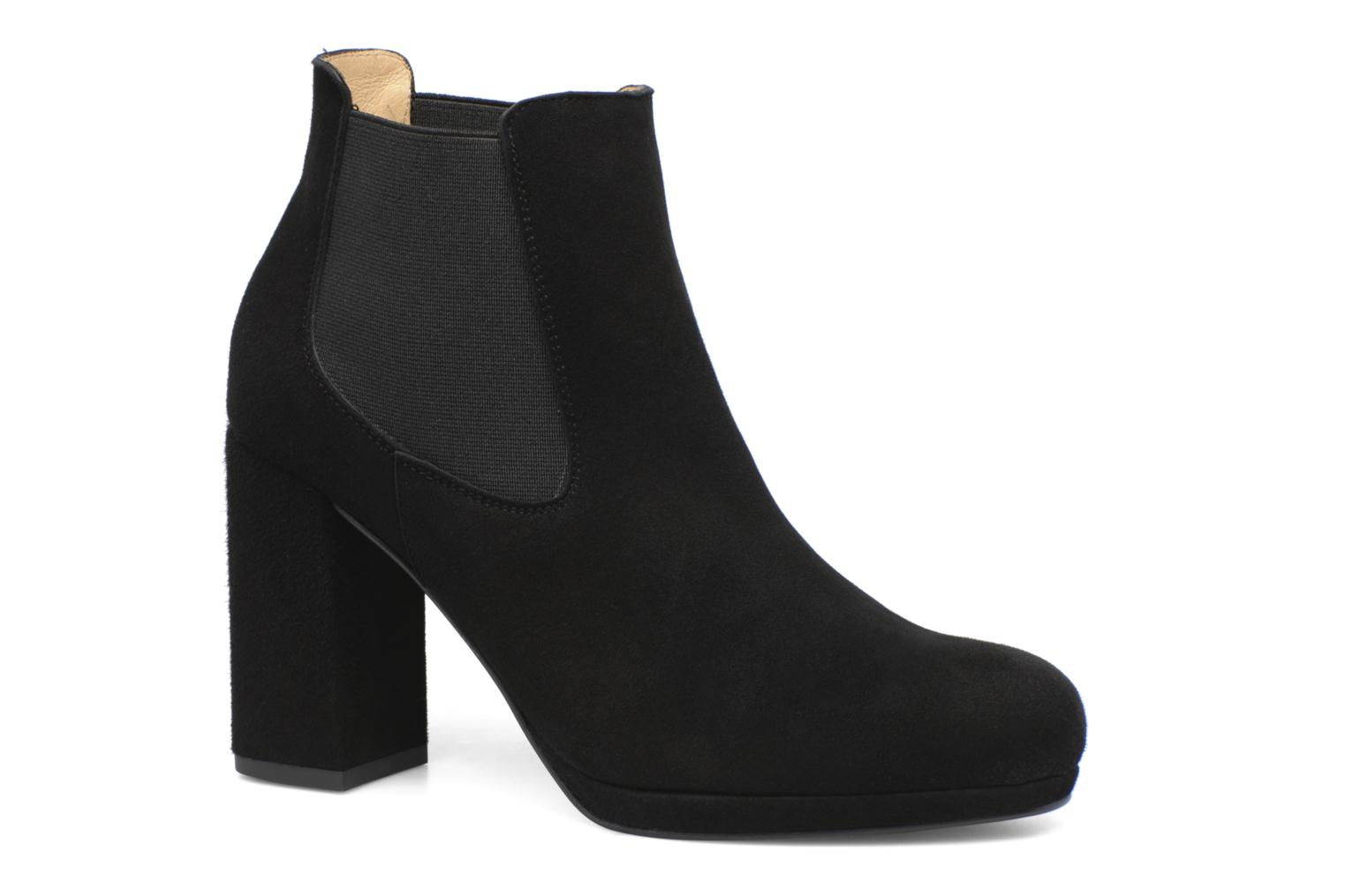 Ankle boots Made by SARENZA Winter Freak #3 Black view from the right