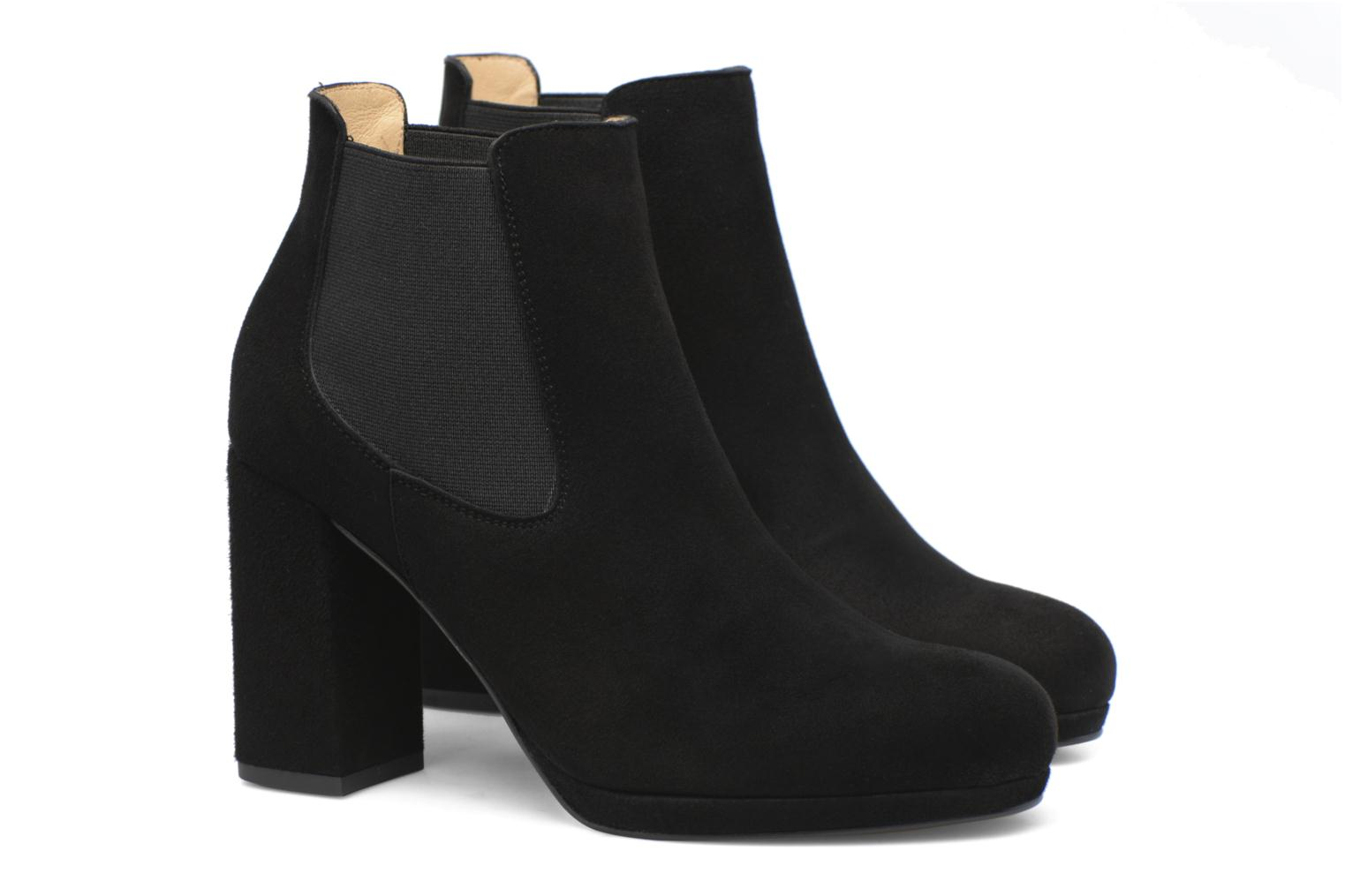 Winter Freak #3 Cuir velours noir