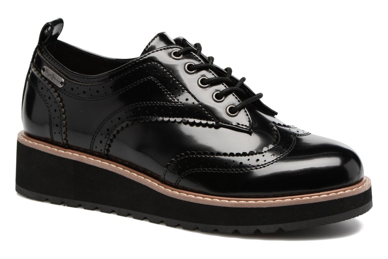 Chaussures à lacets Pepe jeans RAMSY tassel Noir vue 3/4