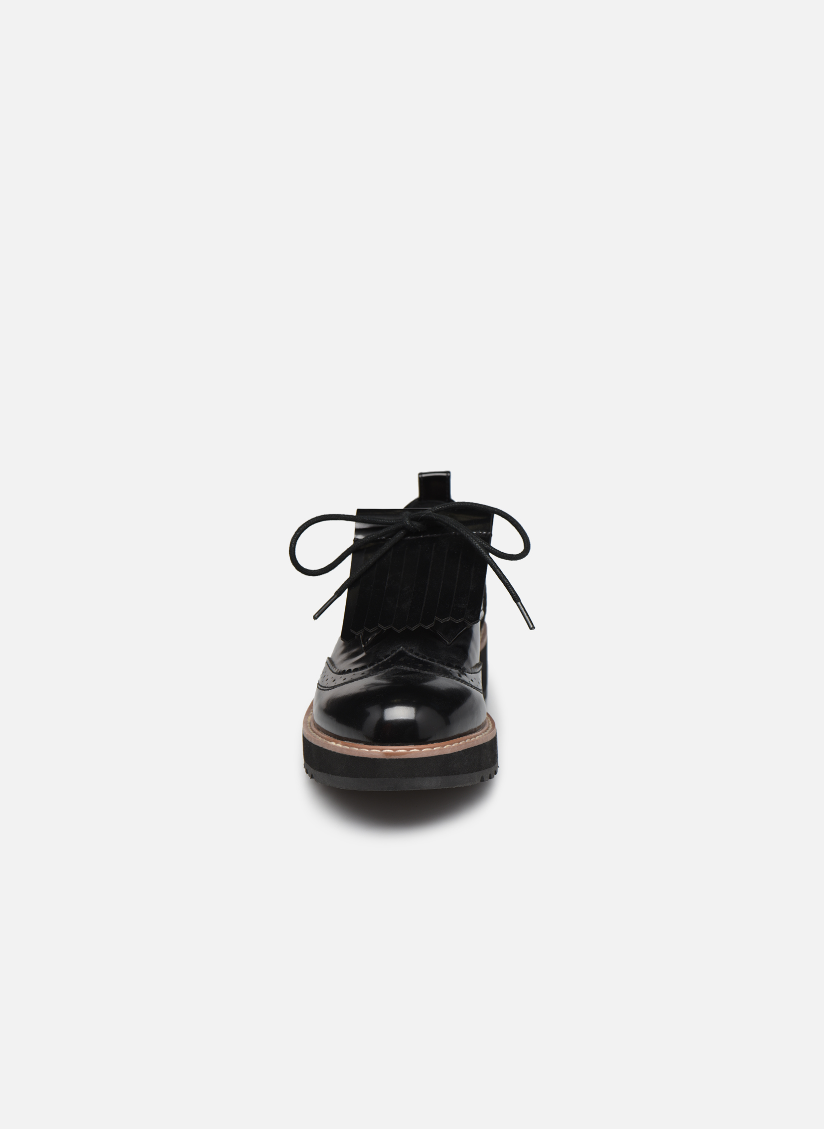 Zapatos con cordones Pepe jeans RAMSY tassel Negro vista del modelo