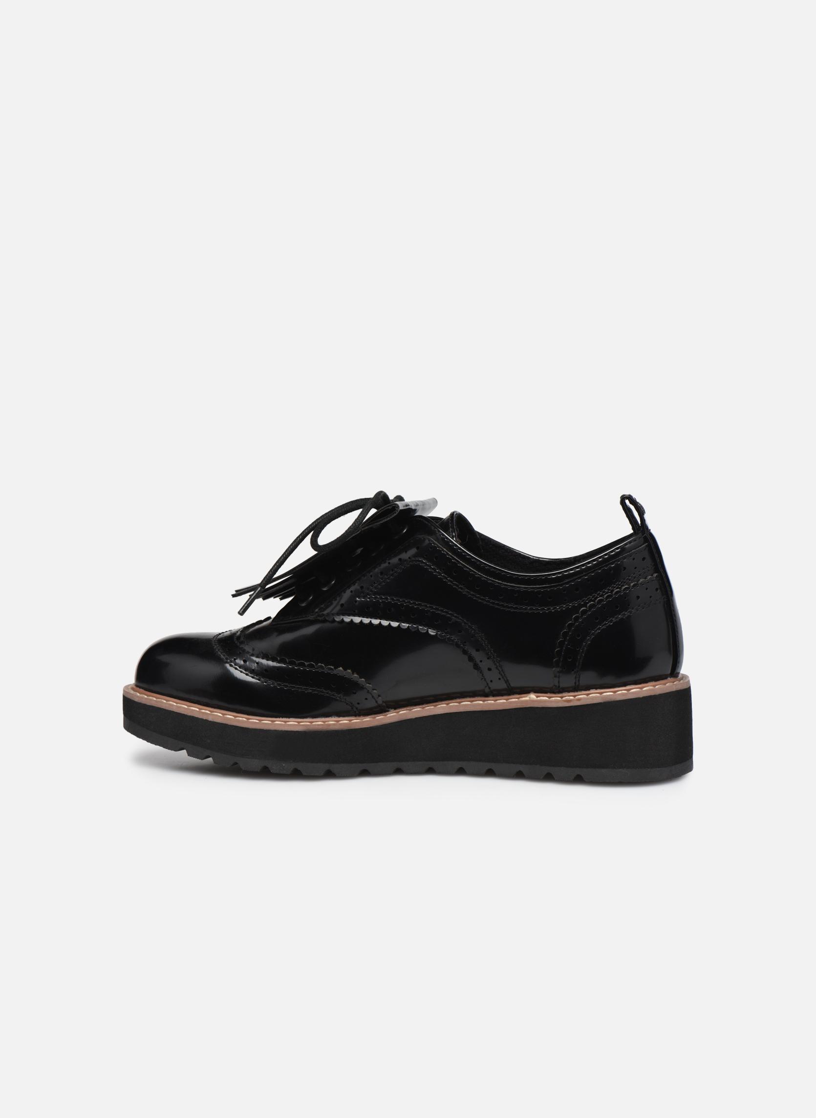 Chaussures à lacets Pepe jeans RAMSY tassel Noir vue face